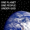 One Planet, One People, Under God